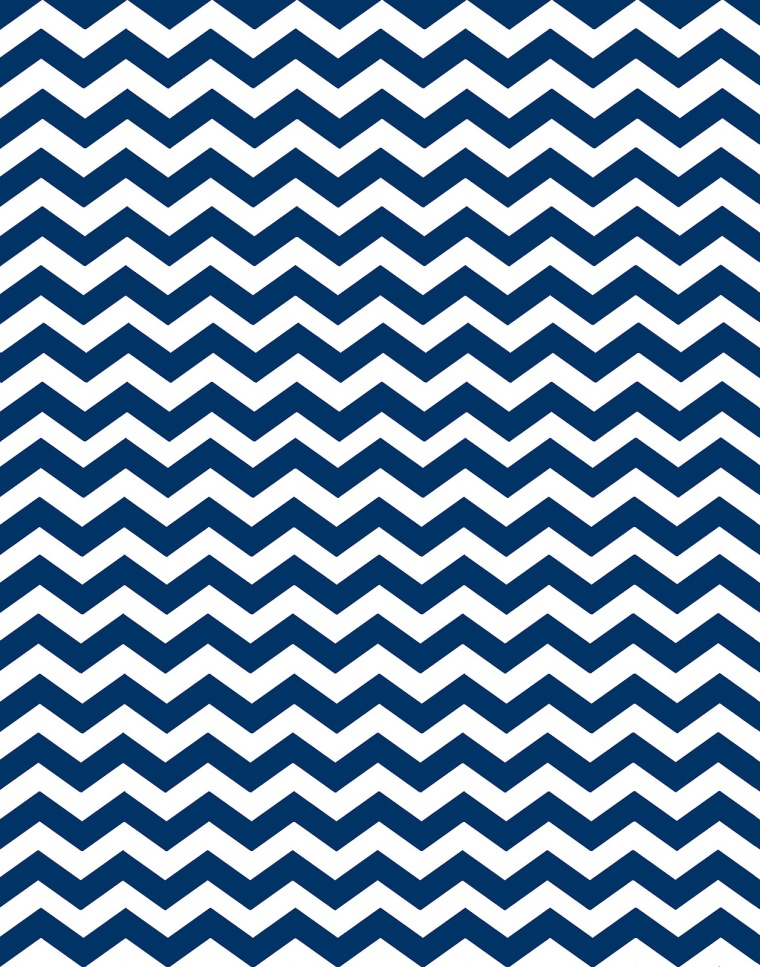 navy blue peacock chevron paper