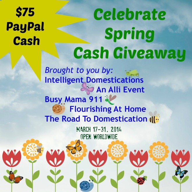 Celebrate Spring Cash Giveaway with Dates
